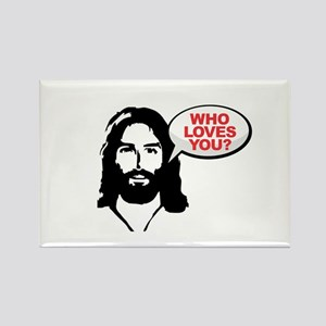 Jesus - Who Loves You Magnets