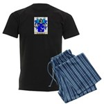 Eliyahu Men's Dark Pajamas