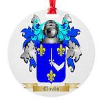 Eliyahu Round Ornament