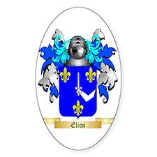 Elion Sticker (Oval)