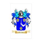 Elijahu Sticker (Rectangle 50 pk)