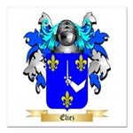 Eliez Square Car Magnet 3