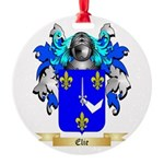 Elie Round Ornament