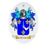 Eliasz Ornament (Oval)