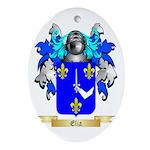 Elia Ornament (Oval)