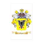 Elgar Sticker (Rectangle 50 pk)