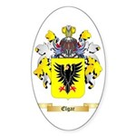 Elgar Sticker (Oval 10 pk)