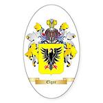 Elgar Sticker (Oval 50 pk)