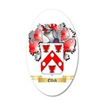 Elfick 35x21 Oval Wall Decal