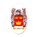 Eley Oval Car Magnet