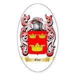 Eley Sticker (Oval 10 pk)