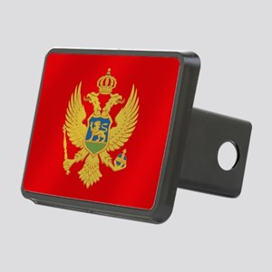 Flag Of Montenegro Rectangular Hitch Cover
