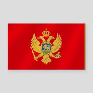 Flag of Montenegro Rectangle Car Magnet