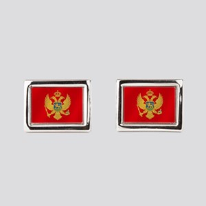 Flag of Montenegro Cufflinks