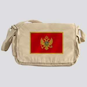 Flag of Montenegro Messenger Bag