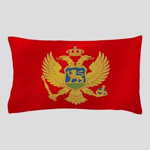 Flag Of Montenegro Pillow Case