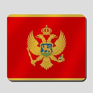 Flag of Montenegro Mousepad