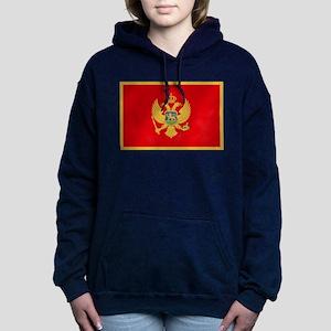 Flag of Montenegro Hooded Sweatshirt