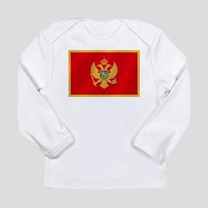 Flag of Montenegro Long Sleeve Infant T-Shirt