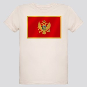 Flag of Montenegro Organic Kids T-Shirt