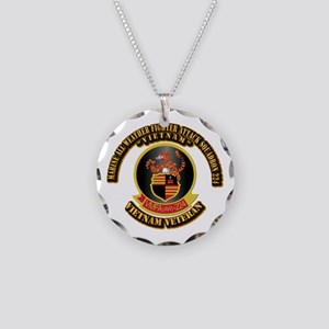 USMC - VMFA(AW) - 224 VN Necklace Circle Charm
