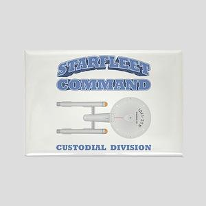 Starfleet Custodial Division Rectangle Magnet