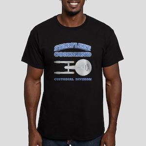 Starfleet Custodial Division Men's Fitted T-Shirt