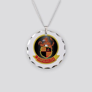 USMC - VMFA(AW) - 224 Necklace Circle Charm