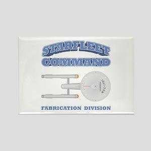 Starfleet Fabrication Division Rectangle Magnet