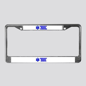 EMT New Section License Plate Frame