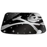Sparkling Pirate Flag Bathmat
