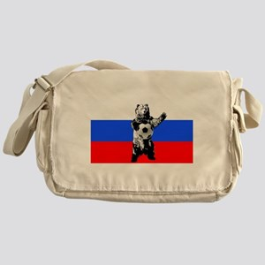 Russian Football Flag Messenger Bag