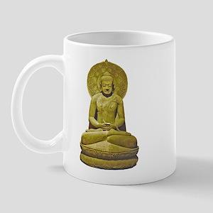 Indonesian Stone Buddha Mug