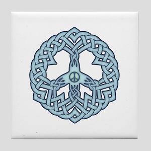 Celtic Peace Tile Coaster