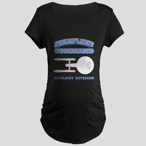 Starfleet Geology Division Maternity Dark T-Shirt
