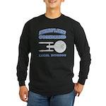 Starfleet Legal Division Long Sleeve Dark T-Shirt