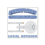 Starfleet Legal Division Square Sticker 3