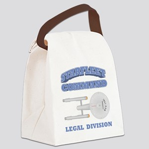 Starfleet Legal Division Canvas Lunch Bag