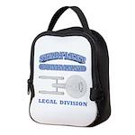 Starfleet Legal Division Neoprene Lunch Bag