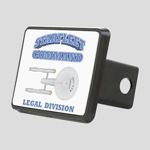 Starfleet Legal Division Rectangular Hitch Cover