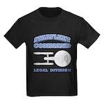 Starfleet Legal Division Kids Dark T-Shirt