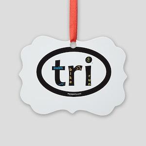 Tri Design Picture Ornament
