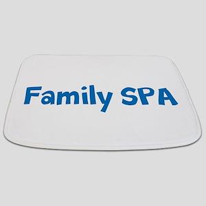 Fun Blue Turquoise Personalisable SPA Bathmat
