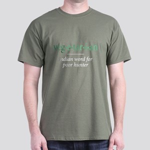 vegetarian - Dark T-Shirt