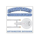Starfleet Optometry Division Square Sticker 3