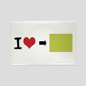 Customize Photo Rectangle Magnet