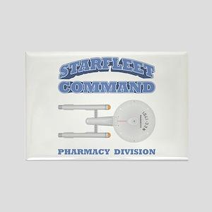 Starfleet Pharmacy Division Rectangle Magnet