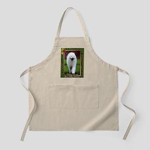 Samoyed Dog Christmas Apron