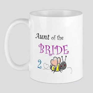 Aunt of the Bride to Bee Mug