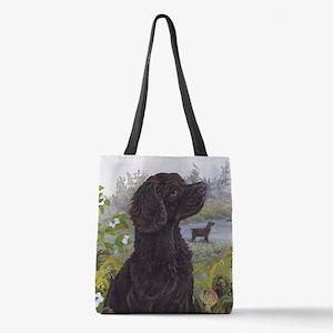 Boykin Spaniel PD Polyester Tote Bag